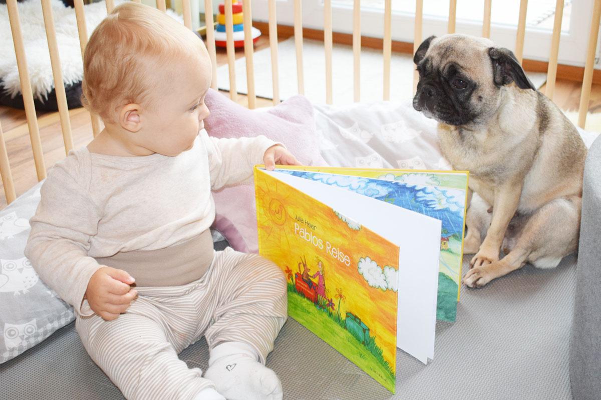 Kinderbuch Rezension Pablos Reise von Julia Heier - Mama Blog München