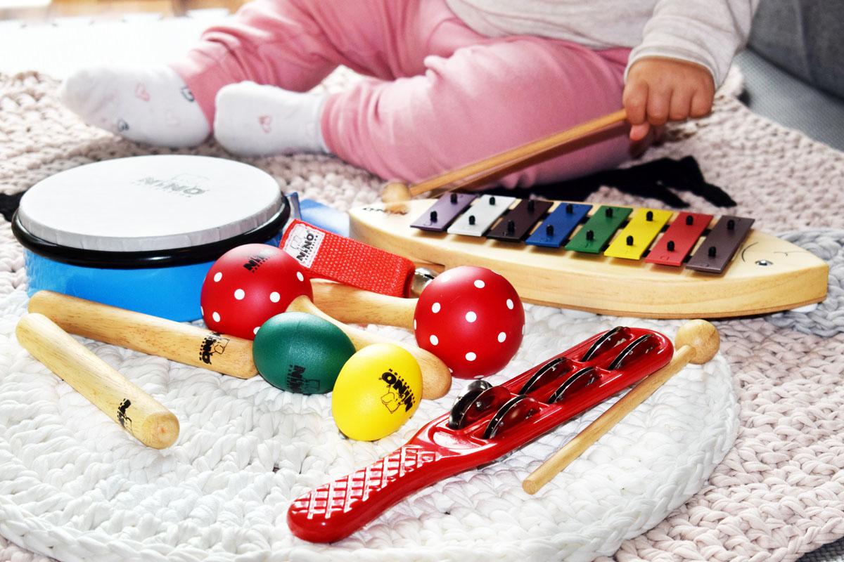 Musikalische Früherziehung - Musikinstrumente für Kinder - meinlshop - ninopercussion