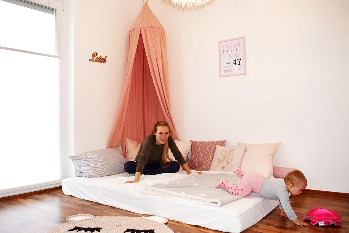 Vom Familienbett ins eigene Kinderzimmer - Babybett - Kinderbett - Babyschlaf - Mama Blog München