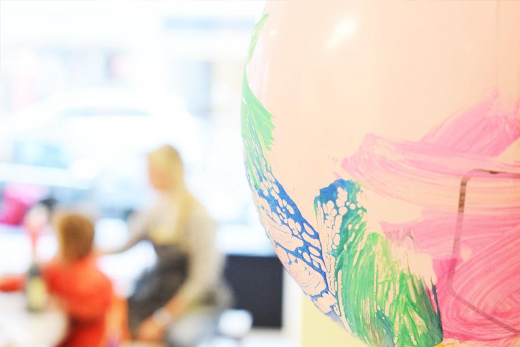 Kinderkunsthaus München Schwabing - Kreativwerkstatt - Ausflüge mit Kind - Ballon - malen basteln diy - Mama Blog München
