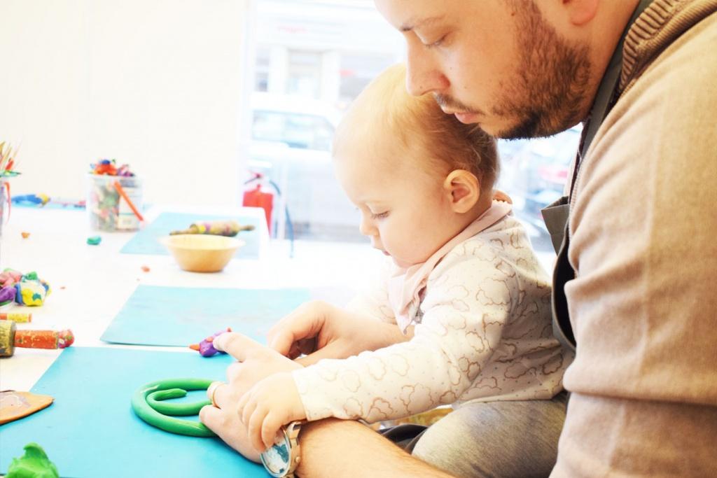 Kinderkunsthaus München Schwabing - Kreativwerkstatt - Ausflüge mit Kind - Kneten - malen basteln diy - Mama Blog München