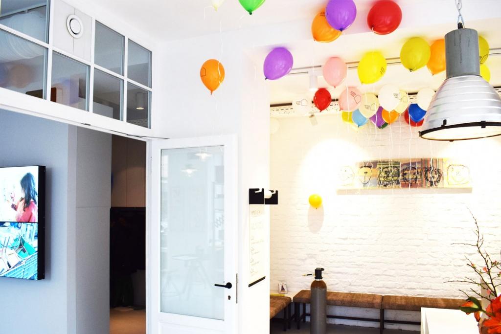 Kinderkunsthaus München Schwabing - Kreativwerkstatt - Ausflüge mit Kind - Luftballons - malen basteln diy - Mama Blog München