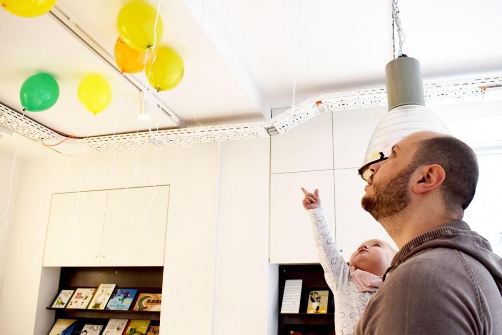 Kinderkunsthaus München Schwabing - Kreativwerkstatt - Ausflüge mit Kind - Papa Tochter - malen basteln diy - Mama Blog München
