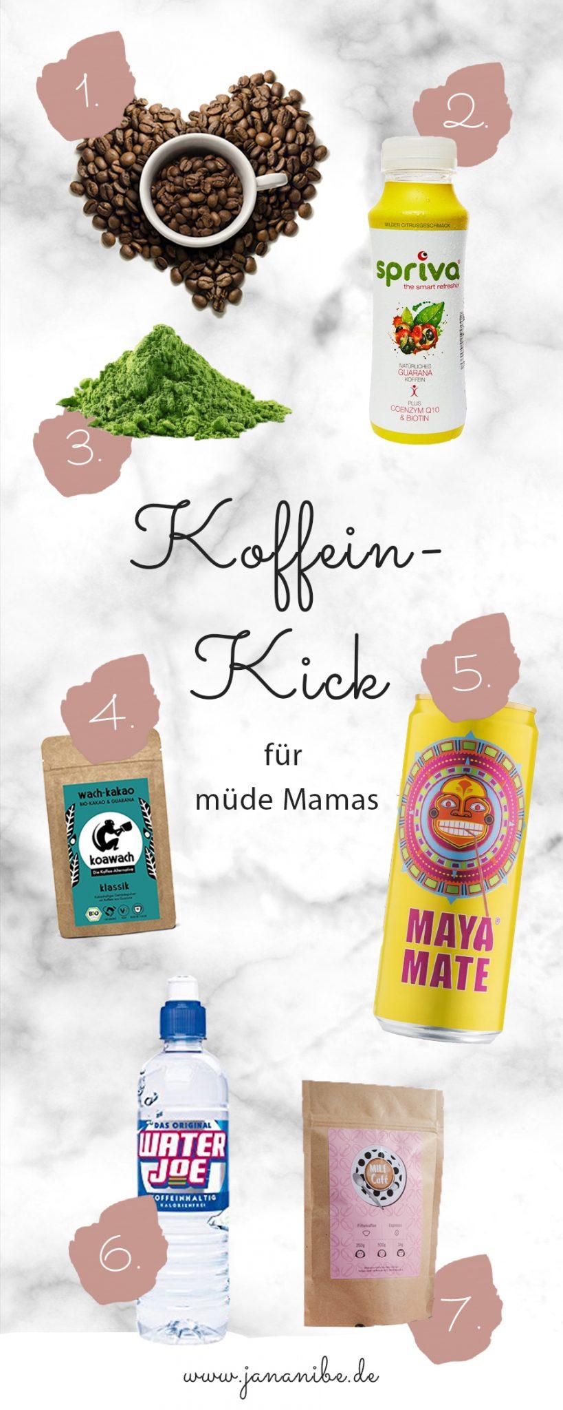 Koffein-Kick für müde Mamas