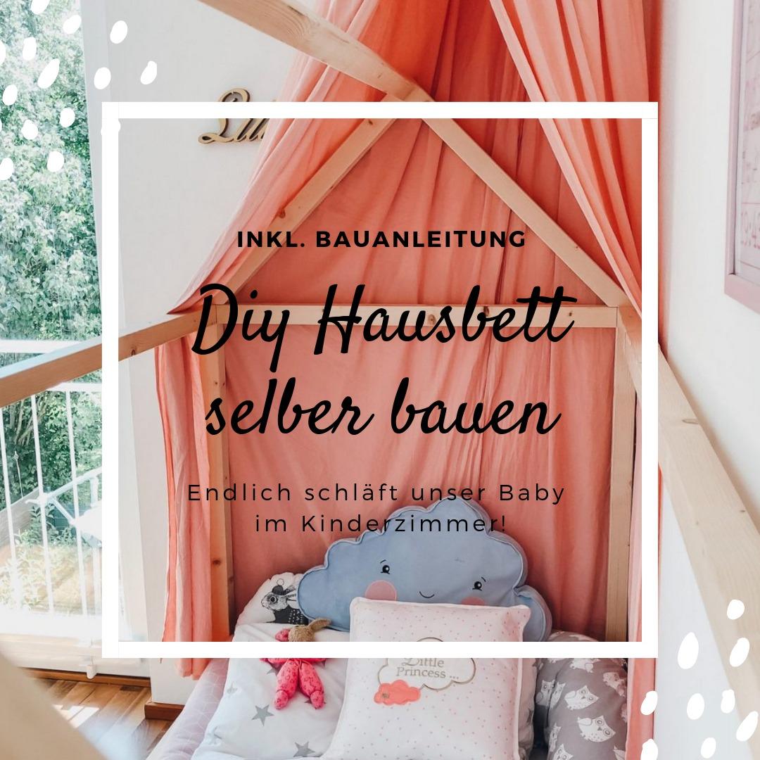 Endlich durchschlafen! DIY Hausbett für Kinder nach Montessori & Zirbenholzmatratze von Träumeland
