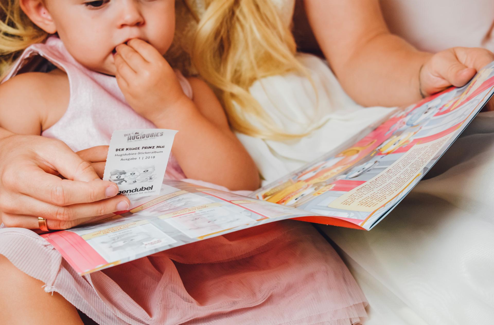 5 Tipps, wie ihr die Lese-Liebe eurer Kinder fördert inkl. gratis Stickeralbum von Hugendubel 5