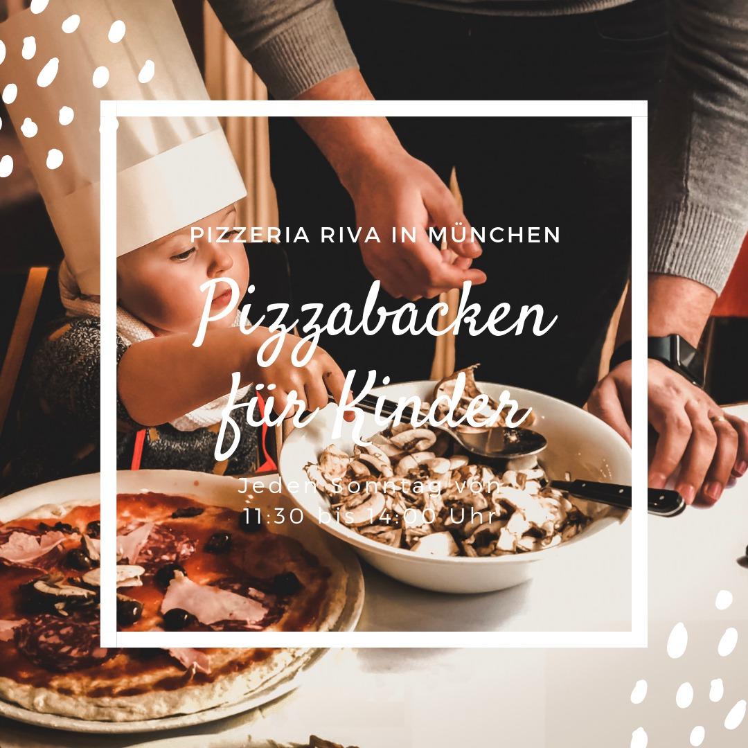 Kinderpizzabacken im Riva - was machen mit Kind in München Ausflusgtipps